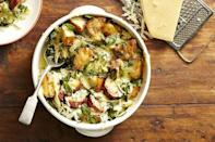 """<p>This cheesy bake is the perfect make ahead meal. Instead of saving it for your next dinner party, enjoy it for lunch over a week!</p><p><em><a href=""""https://www.goodhousekeeping.com/food-recipes/a42223/spinach-gruyere-potato-casserole-recipe/"""" rel=""""nofollow noopener"""" target=""""_blank"""" data-ylk=""""slk:Get the recipe for Spinach and Gruyere Potato Casserole »"""" class=""""link rapid-noclick-resp"""">Get the recipe for Spinach and Gruyere Potato Casserole »</a></em></p>"""