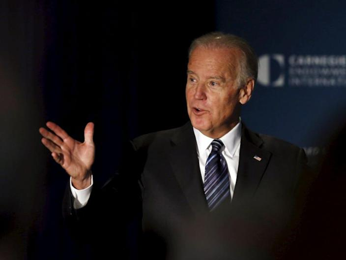 Activists fear a vote for a third party could hurt Joe Biden (Reuters)