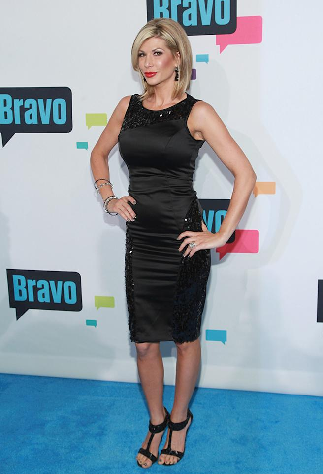 "NEW YORK, NY - APRIL 03:  TV personality Alexis Bellino of ""The Real Housewives of Orange County"" attends the 2013 Bravo Upfront at Pillars 37 Studios on April 3, 2013 in New York City.  (Photo by Taylor Hill/FilmMagic)"