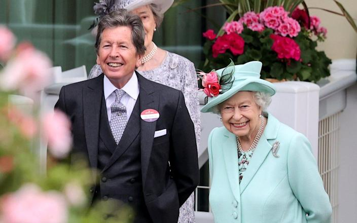 The Queen attends Royal Ascot on Saturday, where she received a warm welcome from the crowds - Chris Jackson/Getty Images