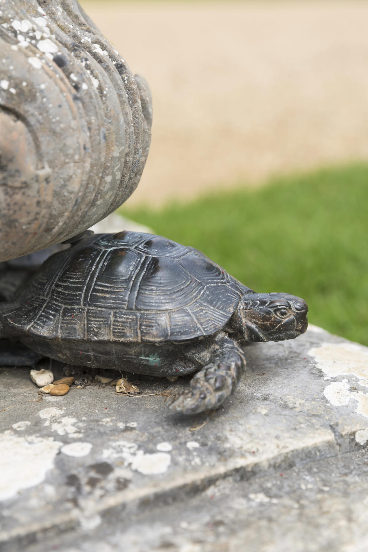 After the theft replicas of the tortoises were commissioned to replace the originals (James Dobson/National Trust/PA).