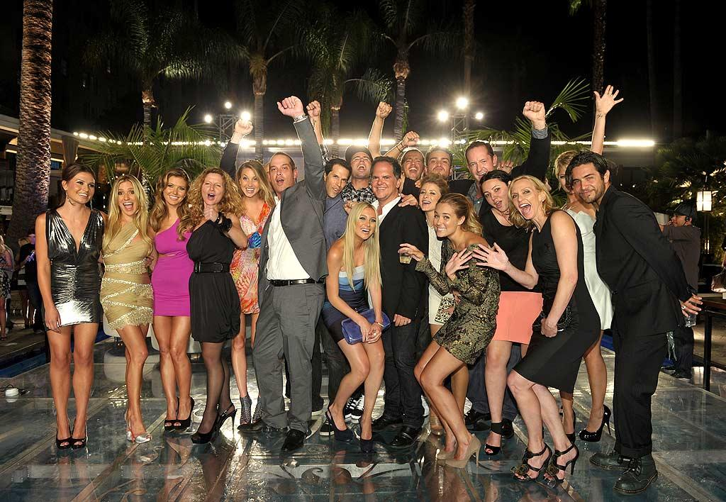 "The entire cast and crew -- minus Heidi Montag and Spencer Pratt -- crowded in for a family portrait. Which characters from the show will you miss most? John Shearer/<a href=""http://www.gettyimages.com/"" target=""new"">GettyImages.com</a> - July 13, 2010"