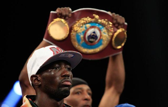 Terence Crawford, the WBC/WBO super lightweight champion, was sentenced Thursday to 90 days in jail by a Nebraska judge following two misdemeanor convictions. (Getty Images)