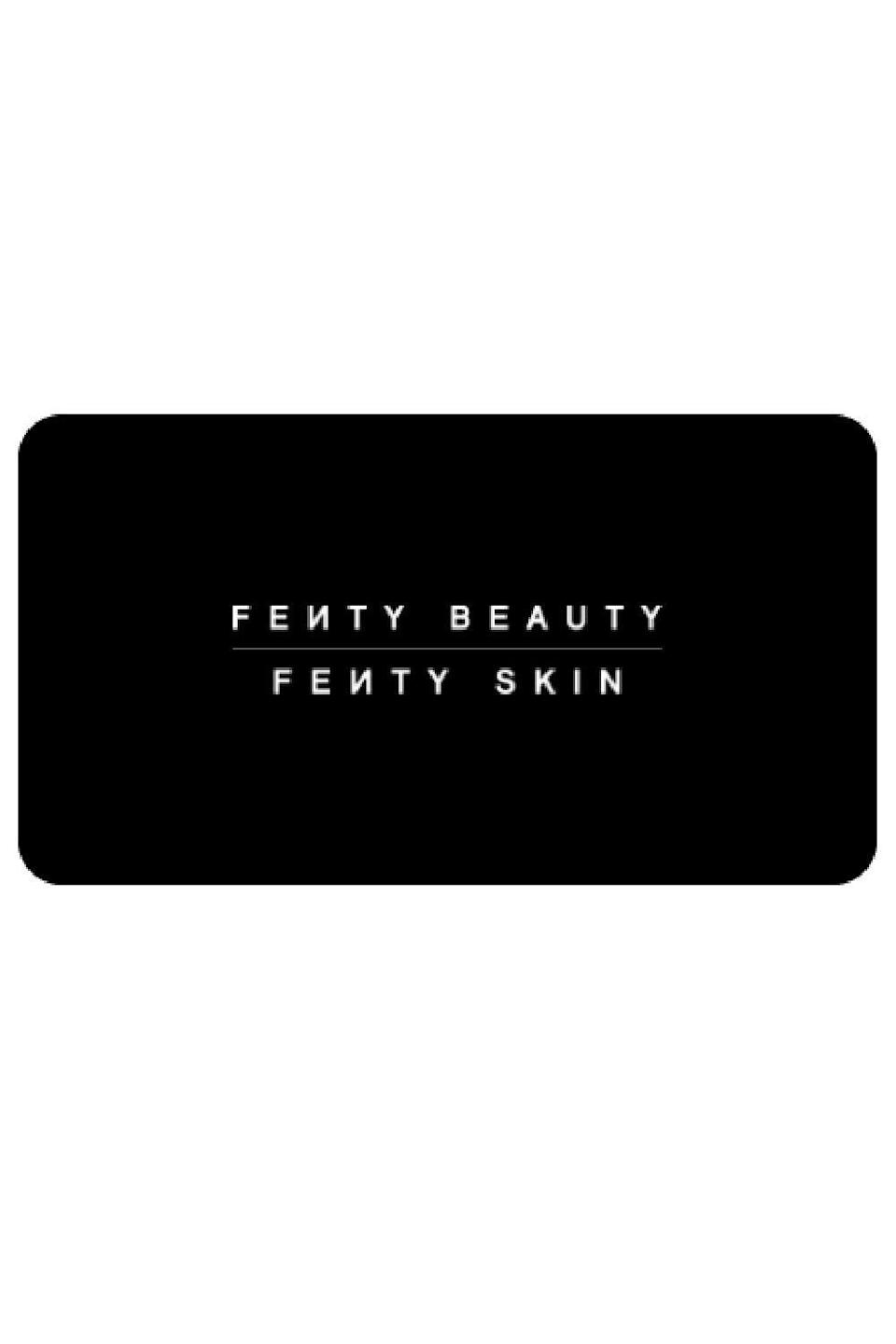 """<p><strong>Fenty Beauty</strong></p><p>fentybeauty.com</p><p><a href=""""https://go.redirectingat.com?id=74968X1596630&url=https%3A%2F%2Fwww.fentybeauty.com%2Fegift-cards&sref=https%3A%2F%2Fwww.cosmopolitan.com%2Fstyle-beauty%2Ffashion%2Fg34229001%2Fbest-gift-card-ideas-to-give%2F"""" rel=""""nofollow noopener"""" target=""""_blank"""" data-ylk=""""slk:Shop Now"""" class=""""link rapid-noclick-resp"""">Shop Now</a></p><p>We all have that one person in our lives who loves makeup or skincare more than they love us, and that's okay. We love them anyway, so much so that we'll even gift them cash to shop their favorite brands, like Fenty Beauty and Fenty Skin.</p>"""