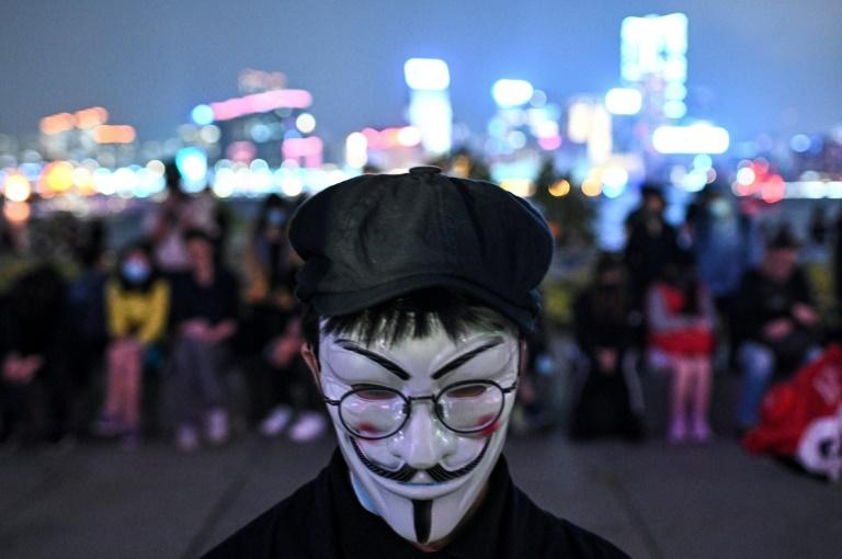 Tens of thousands of Hong Kongers packed into a park on the night of November 9 to mourn Alex Chow, who died during recent clashes