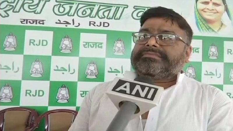 Ram Vilas Paswan's Son-in-Law Anil Kumar Sadhu to Contest Against Him in 2019 Lok Sabha Elections if RJD Gives Ticket