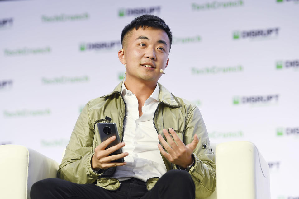 SAN FRANCISCO, CALIFORNIA - OCTOBER 04: OnePlus Co-founder Carl Pei speaks onstage during TechCrunch Disrupt San Francisco 2019 at Moscone Convention Center on October 04, 2019 in San Francisco, California. (Photo by Steve Jennings/Getty Images for TechCrunch)