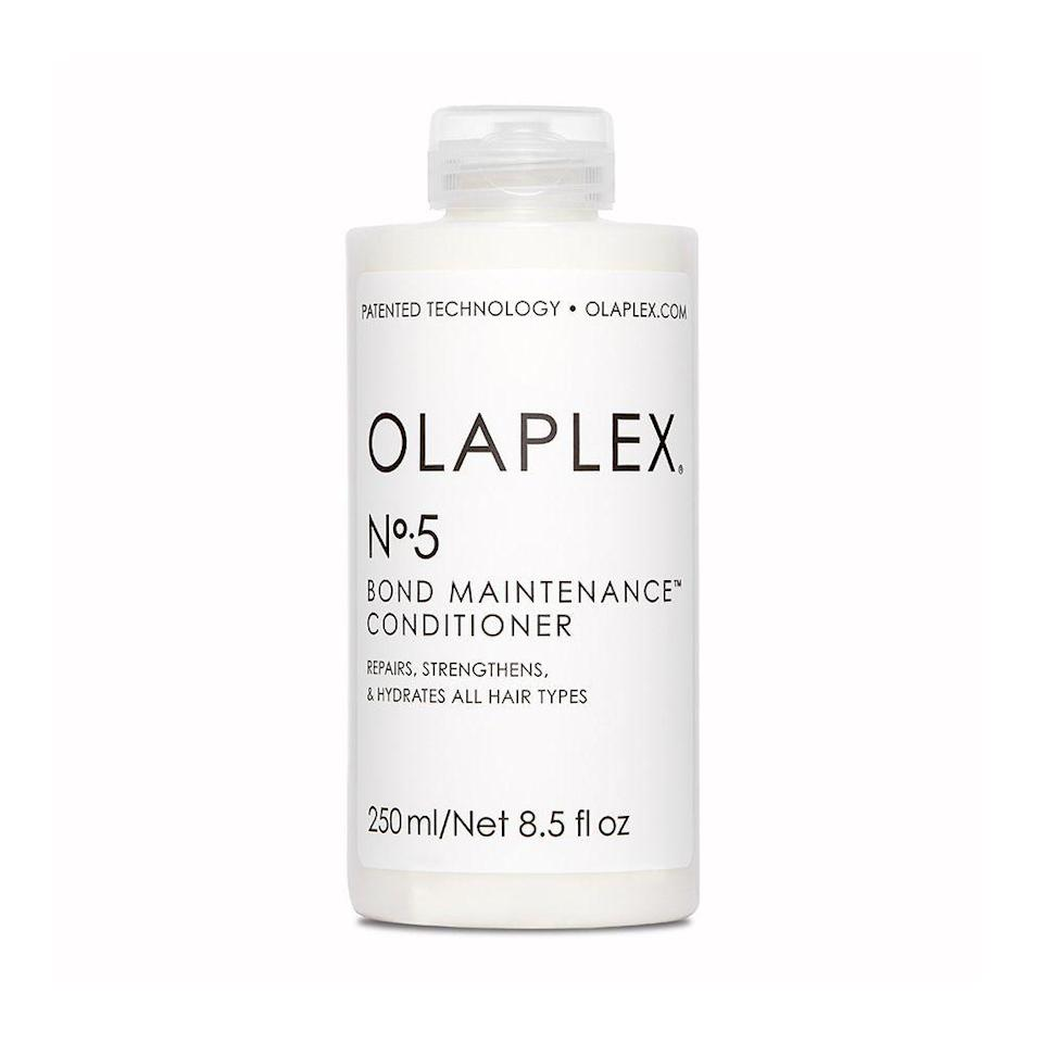 """<p><strong>Olaplex</strong></p><p>sephora.com</p><p><strong>$28.00</strong></p><p><a href=""""https://go.redirectingat.com?id=74968X1596630&url=https%3A%2F%2Fwww.sephora.com%2Fproduct%2Fno-5-bond-maintenance-conditioner-P433173&sref=https%3A%2F%2Fwww.elle.com%2Fbeauty%2Fhair%2Fg36491077%2Fbest-deep-conditioner-for-natural-hair%2F"""" rel=""""nofollow noopener"""" target=""""_blank"""" data-ylk=""""slk:Shop Now"""" class=""""link rapid-noclick-resp"""">Shop Now</a></p><p>Olaplex has quickly become reputable for repairing damaged hair. This highly moisturizing, reparative conditioner protects and repairs damaged hair, split ends, and breakage by re-linking broken bonds and strengthening your strands. </p>"""