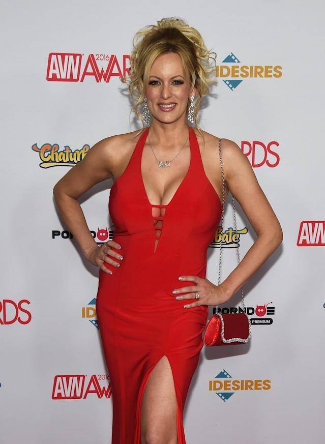 Adult-film actress/director Stormy Daniels at the 2016 Adult Video News Awards in Las Vegas. (Photo: Ethan Miller/Getty Images)