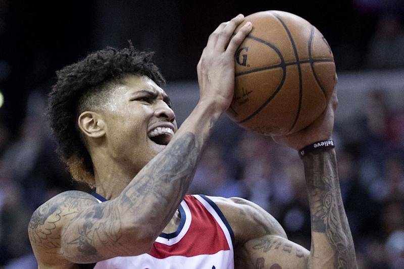 brand new dadd5 7de3e Converse Signs Washington Wizards Star Kelly Oubre Jr.
