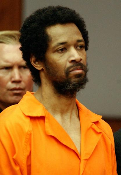 Washington area sniper John Allen Muhammad was executed in 2009 (AFP Photo/STEVE HELBER)