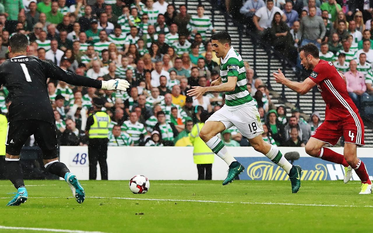 Celtic 2 Aberdeen 1: Tom Rogic shatters Dons to secure historic clean sweep with Scottish Cup final win