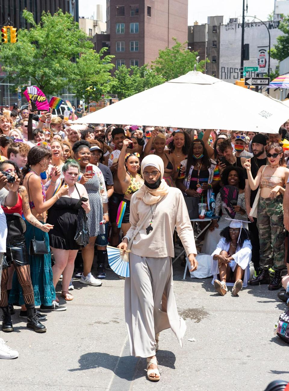 The Stonewall Protests at Rashid Johnson's Red Stage at Astor Place
