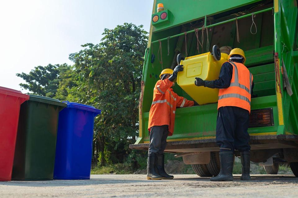 """<p>We all toss wrappers and waste into our garbage cans without a second thought as to how it'll get disposed of properly. Sanitation workers provide the deeply crucial service of disposing of our everyday waste that drastically cuts down on the spread of disease and disarray. Sanitation workers like <a href=""""https://www.pbs.org/newshour/show/a-sanitation-workers-fears-about-collecting-trash-during-the-pandemic"""" rel=""""nofollow noopener"""" target=""""_blank"""" data-ylk=""""slk:Sammy Dattulo"""" class=""""link rapid-noclick-resp"""">Sammy Dattulo</a> in Chicago continue this work every day to service communities all across the metropolitan area regardless of the increased risk of exposure they face with bravery everyday. </p>"""