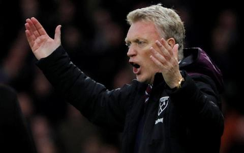 West Ham's David Moyes - Credit: Reuters