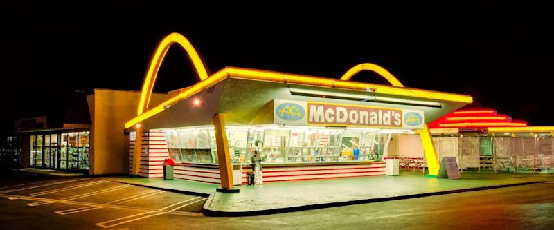 The oldest operating McDonald's restaurant in the world.