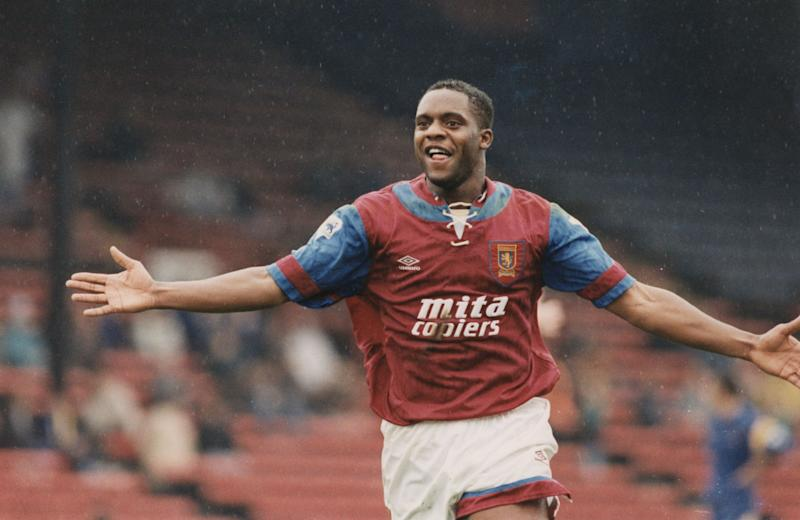 Dalian Atkinson played for Aston Villa, Ipswich Town and Sheffield Wednesday (Photo: Jon Nicholson/Mail On Sunday/Shutterstock)