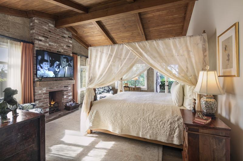 The Kennedy suite at San Ysidro Ranch.