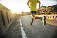 """<p>As the weather finally warms up, runners around the country are truly living their lives and shedding layers to feel more comfortable during their training sessions. Whether you're logging miles to get in some extra cardio, lose some of the weight you put on on during quarantine (<a href=""""https://www.menshealth.com/weight-loss/a35614424/weight-loss-transformation-daniel-hertel/"""" rel=""""nofollow noopener"""" target=""""_blank"""" data-ylk=""""slk:this guy ran off an impressive 190 pound"""" class=""""link rapid-noclick-resp"""">this guy ran off an impressive 190 pound</a>s), or just training to set a new PR or <a href=""""https://www.menshealth.com/fitness/a36050872/obsessing-over-pace-heres-how-to-stop-thinking-and-run-by-feel/"""" rel=""""nofollow noopener"""" target=""""_blank"""" data-ylk=""""slk:threshold training pace"""" class=""""link rapid-noclick-resp"""">threshold training pace</a> (you should take a few notes from <a href=""""https://www.menshealth.com/fitness/a36074225/charles-allie-73-year-old-sprinter-how-to-run-fast/"""" rel=""""nofollow noopener"""" target=""""_blank"""" data-ylk=""""slk:this 73-year-old sprinter"""" class=""""link rapid-noclick-resp"""">this 73-year-old sprinter</a>), there's no better time to get out and go. Plus, with in-person races coming back, runners finally have a goal to train towards as they log their miles. (Here are <a href=""""https://www.menshealth.com/fitness/a36095946/running-memes/"""" rel=""""nofollow noopener"""" target=""""_blank"""" data-ylk=""""slk:22 hilarious running memes"""" class=""""link rapid-noclick-resp"""">22 hilarious running memes</a> that all runners can relate to.)</p><p>And that means it might be time to stock up on some new running apparel. Whether you're looking for a <a href=""""https://www.menshealth.com/fitness/g19556347/best-running-shoes-for-men/"""" rel=""""nofollow noopener"""" target=""""_blank"""" data-ylk=""""slk:new pair of road running shoes"""" class=""""link rapid-noclick-resp"""">new pair of road running shoes</a> or <a href=""""https://www.menshealth.com/fitness/g19538916/best-trail-running-shoes/"""" rel=""""nofollow noopene"""