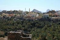 Misfat al-Abriyeen is part of a region known as the Grand Canyon of Oman where tourists can hike the rocky mountains and valleys, and explore the old ways of local people