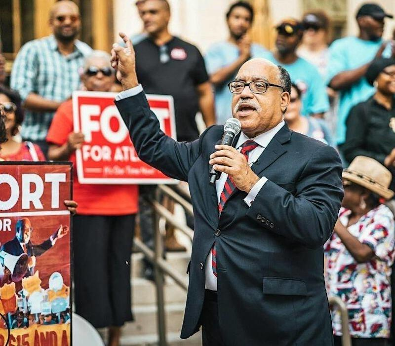 Vincent Fort, the former Democratic whip in the Georgia state Senate, ran an insurgent bid to become mayor of Atlanta.