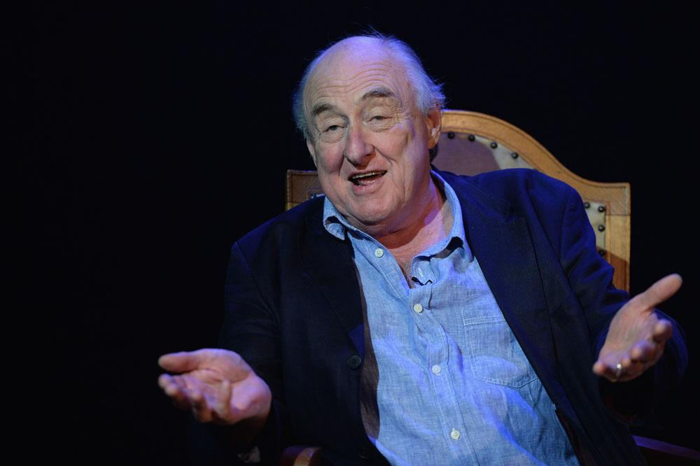 EDINBURGH, SCOTLAND - AUGUST 16:  Henry Blofeld performs with Peter Baxter at the Edinburgh Festival Fringe at the Pleasance theatre in Memories of a Test Match Special on August 16, 2013 in Edinburgh, Scotland.  (Photo by Jeff J Mitchell/Getty Images)