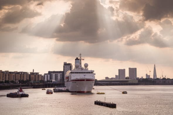 New terminal will bring cruise ships to heart of London