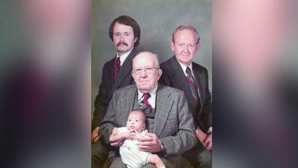 PHOTO: Four generations of men in the Settle family. (Courtesy of Kelen and Will Settle)