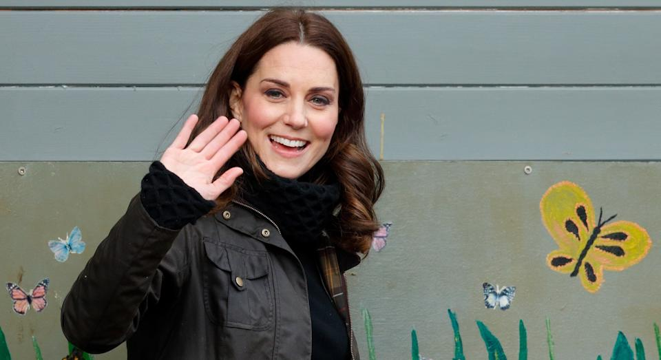 Kate Middleton insisted parents' wellbeing mattered too as she launched Children's Mental Health Week campaign. (Getty Images)