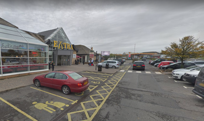 The people were found  in a lorry at Hadden Services in Cambridgeshire. (Google maps)
