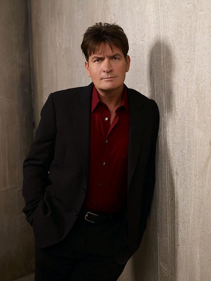 "Charlie Sheen stars as Charlie Harper in ""Two and a Half Men."""