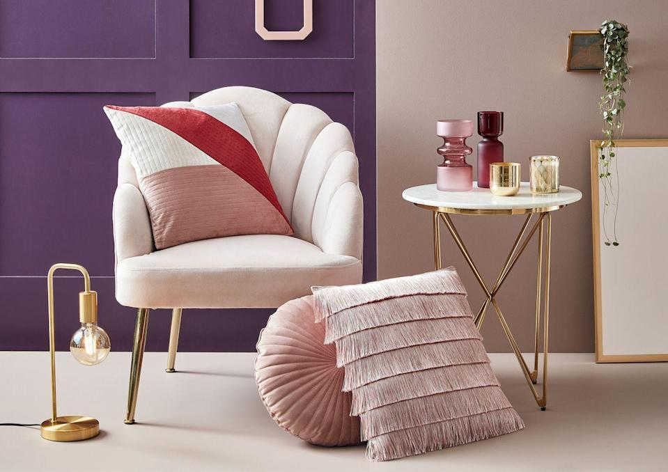 """<p>'Luxury meets style in this elegant, period-style trend. Bringing warm, inviting colours and fabrics together with ornate, statement furniture, this texture-heavy trend accents your room's architecture for a luxurious yet homely atmosphere,' explains <a href=""""https://www.homebase.co.uk/"""" rel=""""nofollow noopener"""" target=""""_blank"""" data-ylk=""""slk:Homebase"""" class=""""link rapid-noclick-resp"""">Homebase</a>.</p>"""