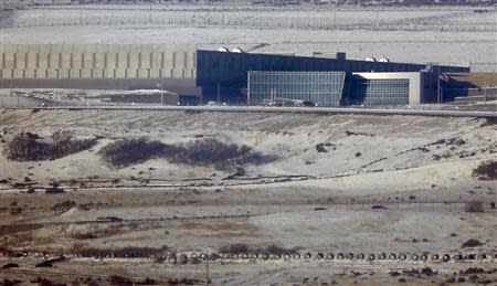 A National Security Agency (NSA) data gathering facility is seen in Bluffdale, about 25 miles (40 kms) south of Salt Lake City