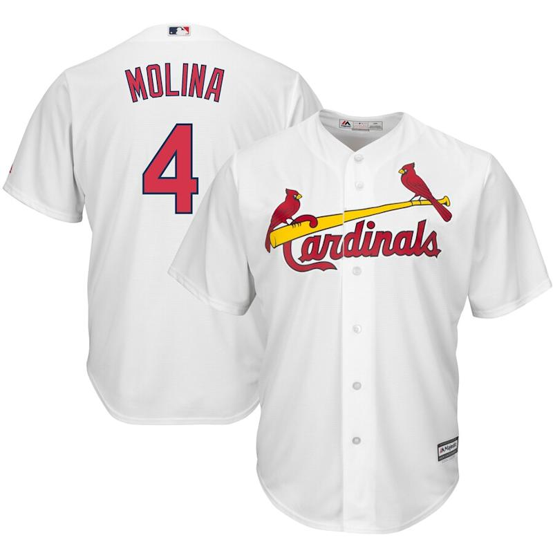 Molina Cardinals Cool Base Player Jersey