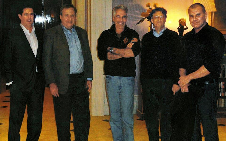James E. Staley, at the time a senior JPMorgan executive; former Treasury Secretary Lawrence Summers; Mr. Epstein; Bill Gates, Microsoft's co-founder; and Boris Nikolic, who was the Bill and Melinda Gates Foundation's science adviser - New York Times