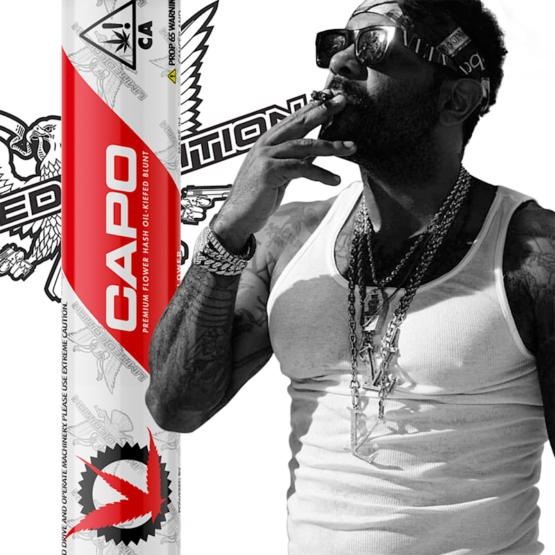 Exclusive line of products from hip-hop musician Jim Jones under the Saucey Extracts umbrella.