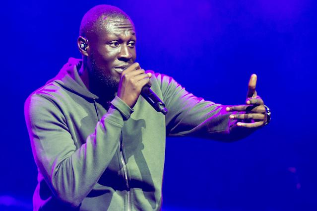 Stormzy has announced he's postponing his h.i.t.h. world tour dates due to the coronavirus outbreak. (Photo by Ollie Millington/Redferms)