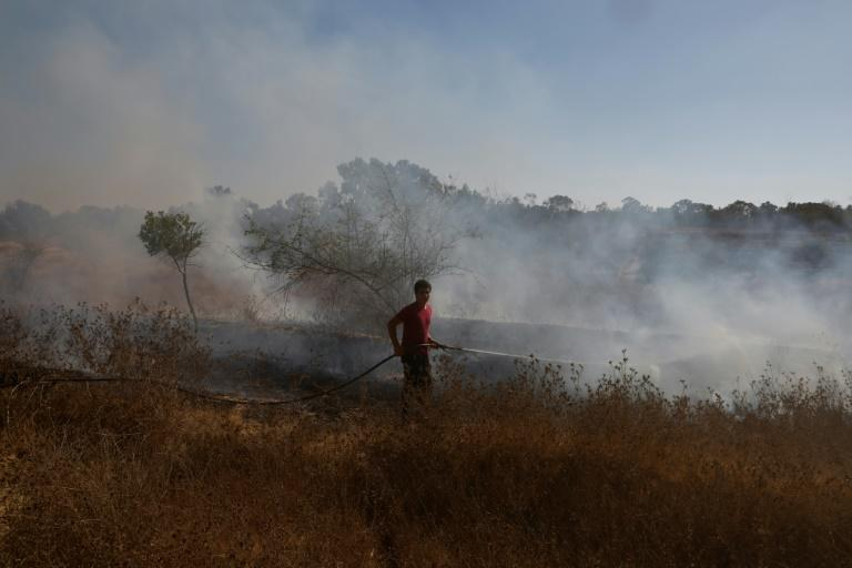 Fresh Gaza projectile at Israel as exchanges of fire continue