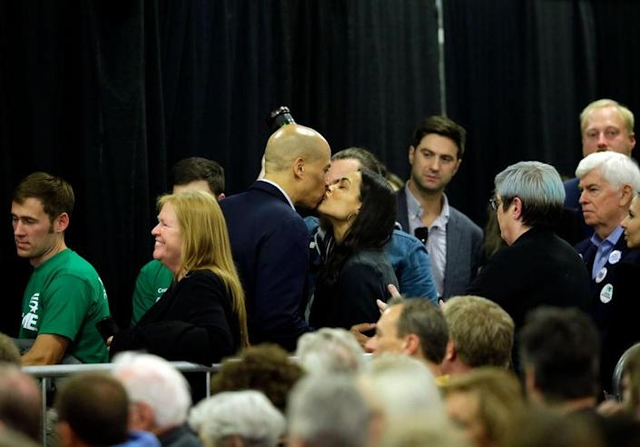 Leading Presidential Candidates Attend Finkenauer Fish Fry In Iowa