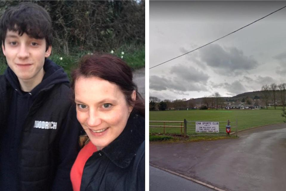 <p>Joshua Hall (L) died from his injuries</p> (Gloucestershire Police/Google Maps)