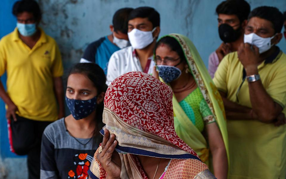 <p>India has been reported over 4,000 deaths from Covid from last four days, as dozens lose their lives in Goa Covid facility due to oxygen supply issues</p> (Copyright 2021 The Associated Press. All rights reserved.)
