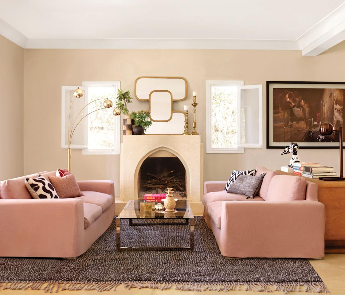 """<p>Choosing the perfect <a href=""""https://www.elledecor.com/design-decorate/color/tips/g3027/best-kitchen-paint-colors/"""" target=""""_blank"""">paint</a> color is no easy feat. There are an endless number of factors to consider, from the amount of light that pours into the space to the overall mood you want to create in the room. And to make it even more of a challenge, there's no shortage of shades for just about any option on the color wheel. <br></p><p>If you're struggling with finding a classic choice that will never go out of style, find inspiration in this roundup of designers' favorite almond-colored paint shades. These designer-tested hues can work magic in any room.</p>"""