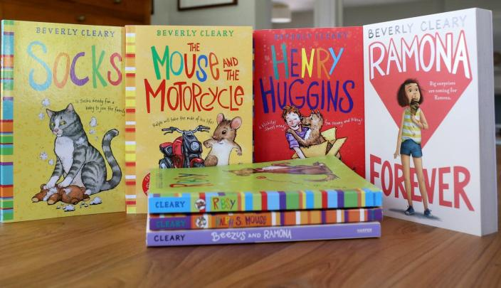 "<span class=""caption"">Beverly Cleary's beloved characters, including Ramona Quimby and Henry Huggins, have enthralled readers for decades.</span> <span class=""attribution""><a class=""link rapid-noclick-resp"" href=""https://newsroom.ap.org/detail/ObitBeverlyCleary/b32b1b09637f4e00bbb15cc0b45f1ff8"" rel=""nofollow noopener"" target=""_blank"" data-ylk=""slk:AP Photo/Anthony McCartney"">AP Photo/Anthony McCartney</a></span>"