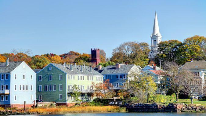 Fair Haven is a neighborhood in the eastern part of the city of New Haven, Connecticut, between the Mill and Quinnipiac rivers.