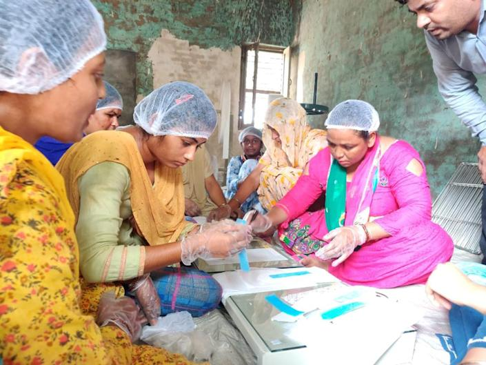 Kaur was determined to lead the change and formed a self-help group (SHG) of 11 people.