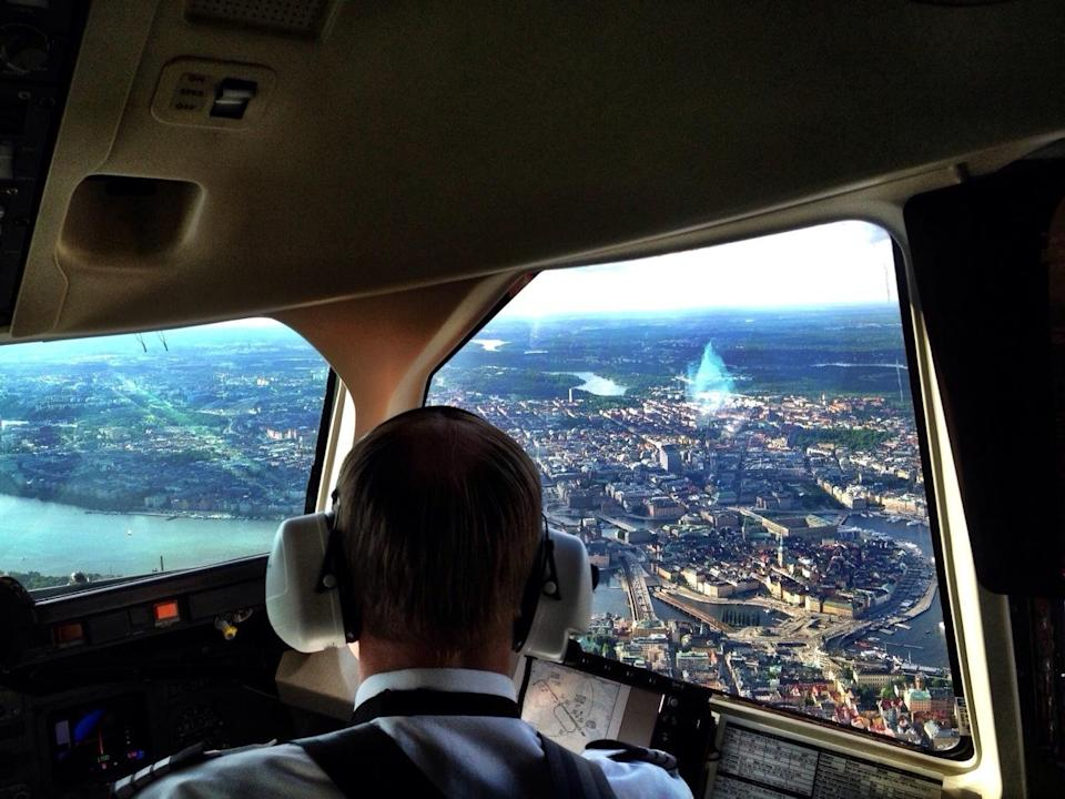 <p>No. 3: Airline pilot <br> Stress score: 60.54 <br> Growth outlook: 5% <br> (Robert Hackel / EyeEm / Getty Images) </p>