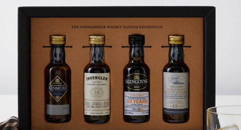 The Connoisseur Whisky Tasting Experience Gift. (Marks & Spencer)