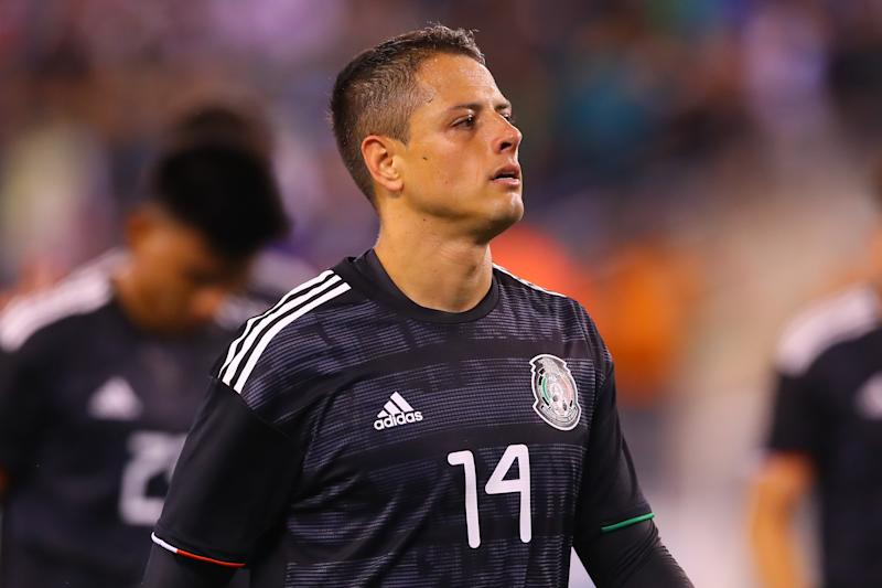 Javier Hernandez has given his first stateside interview since joining the Los Angeles Galaxy. (Photo by Rich Graessle/Icon Sportswire via Getty Images)e)