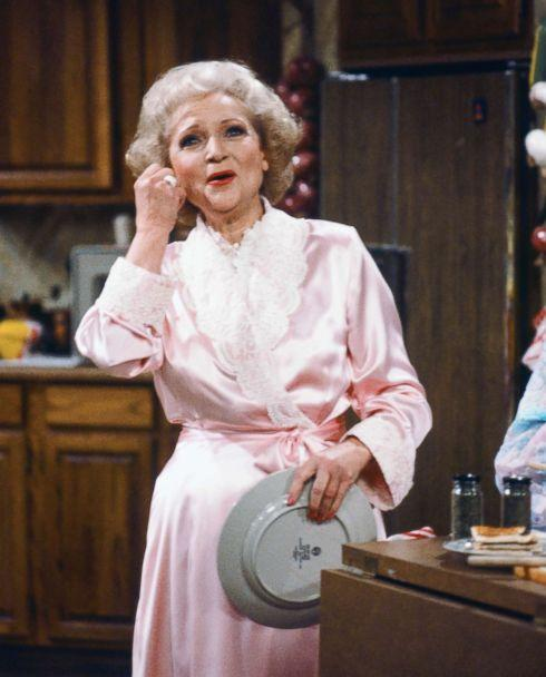PHOTO: Betty White stars as Rose Nylund in the hit sitcom, 'The Golden Girls.' (NBC via Getty Images)