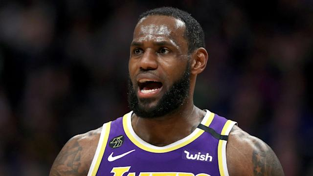 The Lakers took a four-game lead over the Nuggets in the Western Conference but LeBron James is not thinking about their potential seeding.